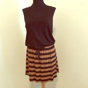 Loft mixed media dress size xs